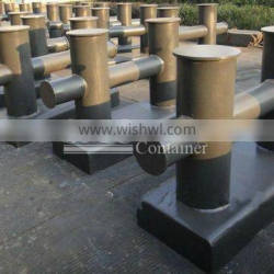 Marine Dock Bollards with CCS, ABS, LR, GL, DNV, NK, BV, KR, RINA, RS Certificate