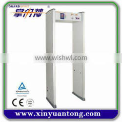 Cheap six zones Led display walk through metal detector door XYT2101-II