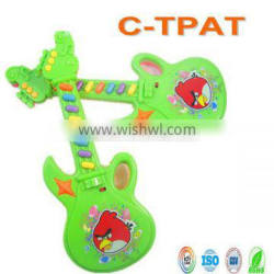 kids electronic guitar toys with 12 kid's song