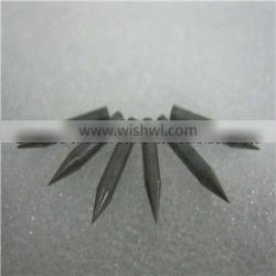 factory suply surface grinding diameter2.3*L16mm*30degree length tungsten steel alloy pointed pin