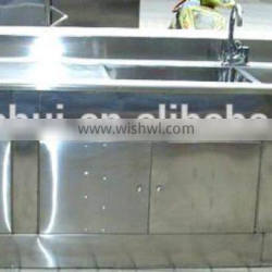 kitchen sink water tank stainless steel sink cabinet for sale