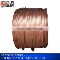 China manufacturer good electrical conductivity cheap copper wire with low carbon steel core