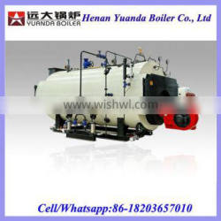 Small size gas oil diesel fired Steam output boiler