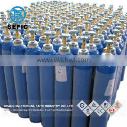 Newly Designed High Pressure ISO9809-1 Industry Oxygen Gas Cylinder 50L