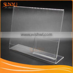 Office Usage Clear Acrylic Poster Paper Holder