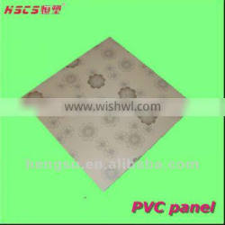 High quality good shock resistance decorative plafond pvc for ceiling