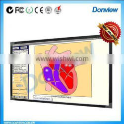 Multi touch resistive tech whiteboard electric