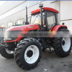 New cheap 4WD130hp farming tractor with tipping trailer