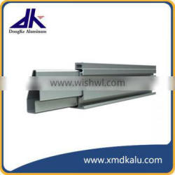 Aluminum extrusion for solar pannel mounting
