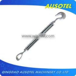 US type galvanized construction wire rope turnbuckle
