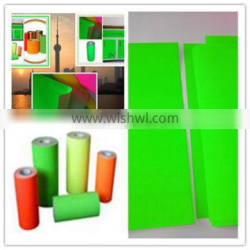Made in China Top Quality green self adhesive fluorescent paper