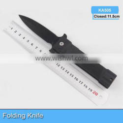 2014 Newest high quality stainless steel pocket folding knife KA505