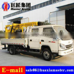 XYC-200 Vehicle Type water well drilling machine hydraulic rotary drilling rig for sale