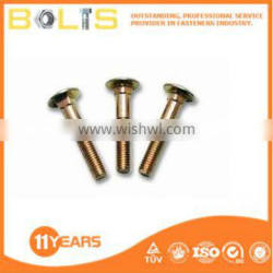 Precision brass carriage bolts/copper carriage bolts