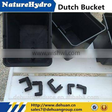 Hydroponics Dutch Bucket Growing Equipment For Greenhouse