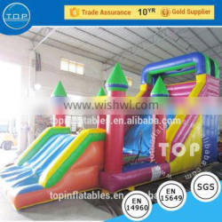 factory price toys for kids inflatable pool floating obstacle course with EN14960