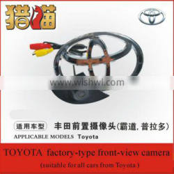 12voltage waterproof factory type car front view car camera for Toyata Car