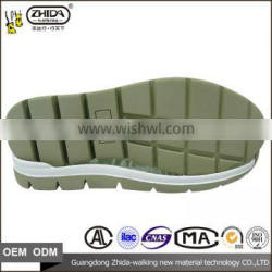 China shoe sole supplier high quality EU Size 38-44 casual sneakers shoes sole for men