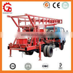 High quality truck-mounted water well drilling rig/drilling machine