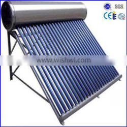 Jordan 24 tube stainless steel solar water heater