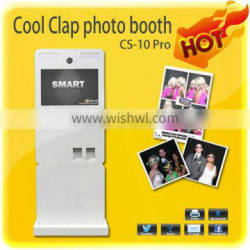 2015 Portable Design Touch Screen Self-service Photo Booth Kiosk