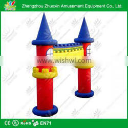 High quality inflatable japanese garden arch customized size,color,design