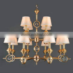 high technology brass pendant lamp classical for drawing room