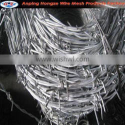 Wire Mesh Fence Top Galvanized Barbed Wire (manufacturer)