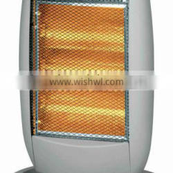 hot sale highquality the new grey oscillating wider-angle halogen heater with remote control