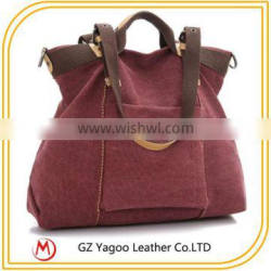 Exported Canvas Big Size Promotion Tote Bag for shopping