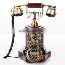 High Classic Caller ID Telephone Antique Corded Phone For Home Decor