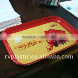 Plastic bar beer/food cold serving tray
