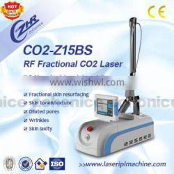 Multifunctional CO2-Z15BS Co2 Laser Fractional Rf Fractional 100um-2000um 10.6um Rf Beauty Machine Spot Scar Pigment Removal