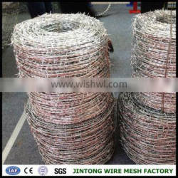 military barbed wire electro galvanzied barbed wire barbed wire fence crimp