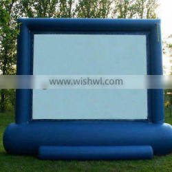 outdoor inflatable advertising screen inflatable film screen