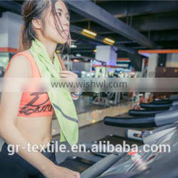 Proffesional gym room specializing exercise towel