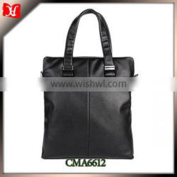 Best quality korean brand leather bag famous brand leather bags office bag for men