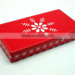 Customized designed fancy chocolate tin box for packaging,storage,display