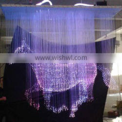 2013 newest fiber optic lamp colour change optic chandelier with remote controller