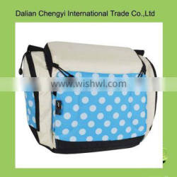 2015 vintage patterned easy-taking cute mommy bags as seat for baby
