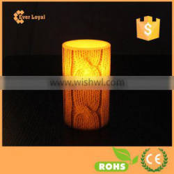 Decorative LED Lights Sweater Coat Flameless Battery Operated Candle Light