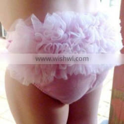 Sold Pink Vintage Baby Bloomer Ruffle Underwear Size From Newborn to 24 Month