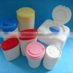 PE plastic baby wipes container, small plastic container