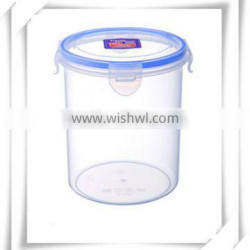 wholesale round shape 1500ml plastic food container with lid all size fd020