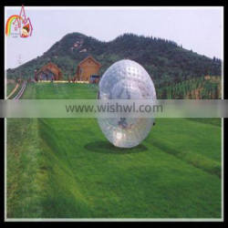 Exciting giant inflatable zorb rolling ball,inflatable ball person inside,inflatable body zorbing ball for kids