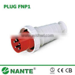 Industrial Plug and Socket 5P, 63A, 125A, Waterproof IP67 Economic Type
