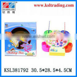 plastic toys battery operated fish game