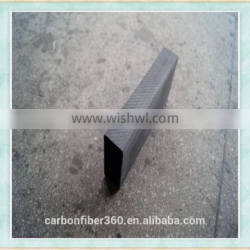 Best strength 3k flexible full carbon fiber square tube