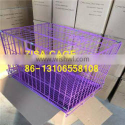 Good Quality Cheap price Black DOG CAGE 20'' 24'' 36'' 42'' metal dog crate for sale