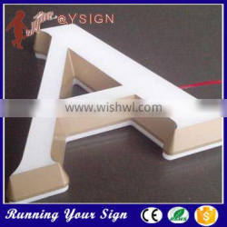Hot sale sign Mini Indoor acrylic led lighting letter